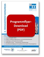 Flyer Gesundheitswirtschaft managen, 403 kb, PDF